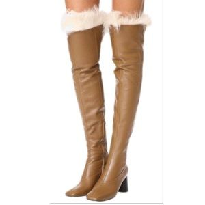 Helmut Lang Over the Knee Boots